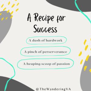 Recipe for business success