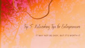 blog banner networking tips
